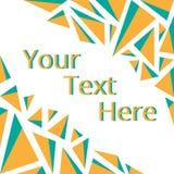 Frame voor uw tekst Stock Foto's