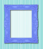 Frame on the wall Stock Image