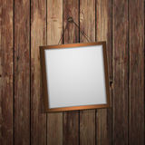 Frame on the wall Royalty Free Stock Photography