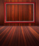 Frame with wall Royalty Free Stock Photography