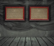 Frame with wall Stock Photography