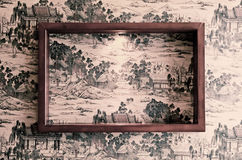 Frame on the wall Royalty Free Stock Images