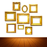 Frame wall Royalty Free Stock Photography