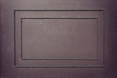 Frame on a wall Royalty Free Stock Photography