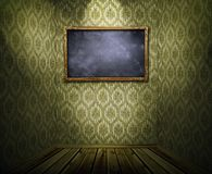 Frame on wall Royalty Free Stock Photography