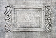 Frame wall old stone. Stock Photo