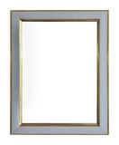 Frame white and gold copper vintage isolated background. Stock Photography