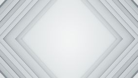 Frame of white lines 3D render background. Frame of white lines. Computer generated abstract background. 3D rendering Vector Illustration