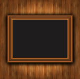 Frame wood board photoframe Stock Photo