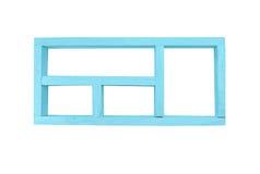 Frame wood box Stock Image