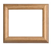Frame wooden isolated Stock Photo