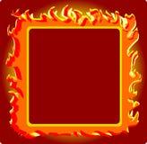 Frame_burning Royalty Free Stock Photos