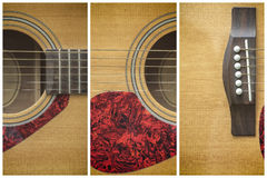 Framed Acoustic guitar Royalty Free Stock Image