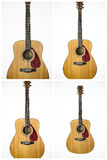Framed Acoustic guitar Stock Images