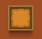 Framed artwork Royalty Free Stock Image
