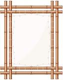Framed Bamboo Banner Stock Photos