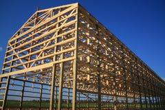 Framed Barn Stock Photo