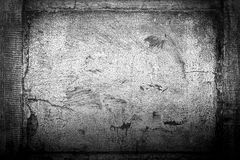 Framed cracked wall background Royalty Free Stock Photos