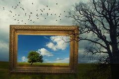 Framed fantasy Royalty Free Stock Photography