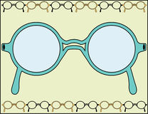 Framed Glasses Stock Photos
