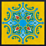 A framed Islamic pattern Stock Image