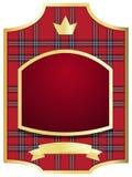 Framed label Royalty Free Stock Image