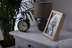 Framed picture of a man Royalty Free Stock Image