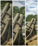 Framed Rocket launcher Royalty Free Stock Photos