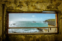 Framed view Royalty Free Stock Photo