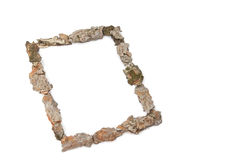 Framed in wood Royalty Free Stock Photography