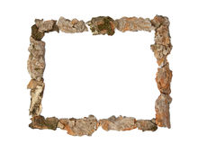 Framed in wood Royalty Free Stock Images