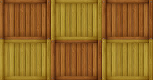 Framed wooden boards Royalty Free Stock Photos