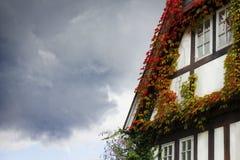 Framehouse in Germania/Hattingen Immagine Stock Libera da Diritti