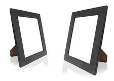 Frames. Two photo frames side by side Royalty Free Stock Photography