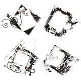 Frames abstratos do grunge Fotografia de Stock Royalty Free