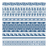 The Frames of ancient Greek style. Some frames,lines and patterns of ancient Greek style. frame elements separately, they are no overlap or opacity change, easy royalty free illustration