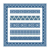 The Frames of ancient Greek style. Some frames, lines and patterns of ancient Greek style. frame elements separately, they are no overlap or opacity change, easy stock illustration