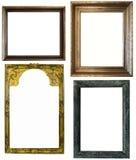 Frames antigos no fundo branco Imagem de Stock Royalty Free