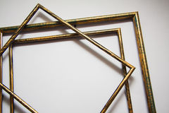 Frames. Art frames background for graphic design Royalty Free Stock Photography