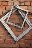 Frames on a background a wall Royalty Free Stock Photography