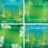 Frames backgrounds Stock Photography