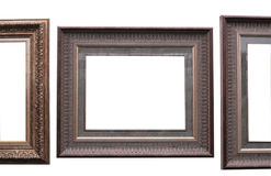 Frames from baguette Stock Photo