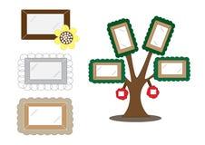Frames bonitos dos desenhos animados Imagens de Stock Royalty Free