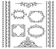 Frames and borders vector illustration