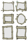 Frames of branches Royalty Free Stock Photos