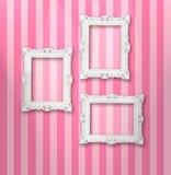 Frames brancos Imagens de Stock