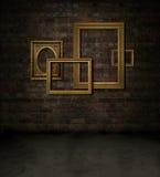 Frames on brick Royalty Free Stock Photo