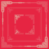Frames of Chinese Style Stock Image