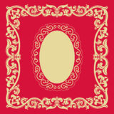 Frames of Chinese Style Royalty Free Stock Photography