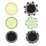 Frames Circle 19 Royalty Free Stock Images